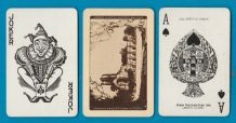Vintage collectible Railways advertising,playing cards